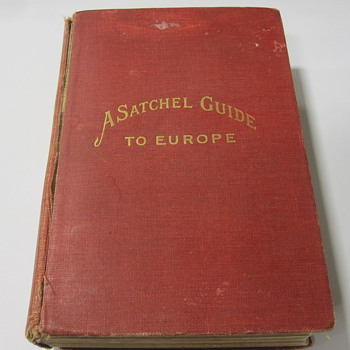 Vintage Satchel Guide To Europe - Books