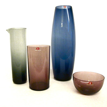 Collection of i-glass by Iittala
