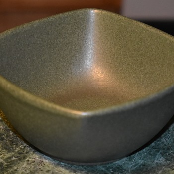 Midcentury Bowl with an illegible impressed mark in the base