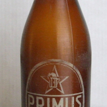 Old Primus Congo Beer Bottle - Bottles