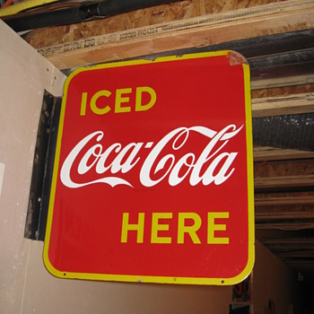 My First Flange Sign and more - Coca-Cola