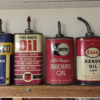 My Favorite Handy Oil Cans - Petroliana