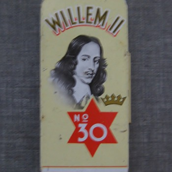 Willem II 1960's cigar tin litho
