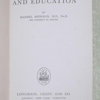 1947 Mental Hygiene and Education