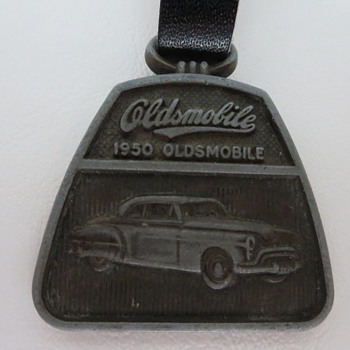 1950 Oldsmobile Pocket Watch Fob - Pocket Watches