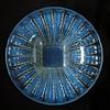 Large art deco opalescent glass centepiece - unknow maker