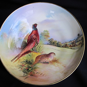 Aynsley fine art collection bowl