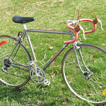 My 1983 Trek 400 Road Bike