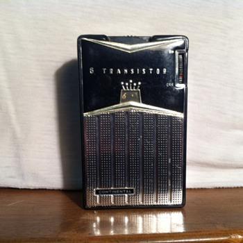 Continental TR-682 Transistor Radio (1961?)