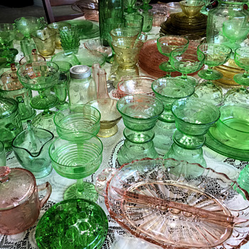 No Such Thing As Too Many Pieces! - Glassware