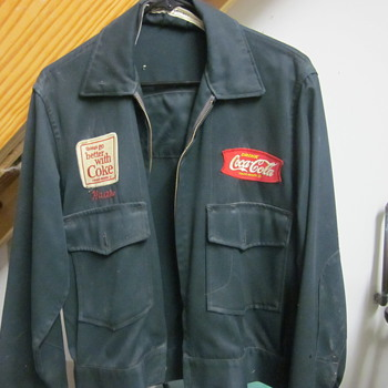 Vintage Coca Cola Jacket - Mens Clothing