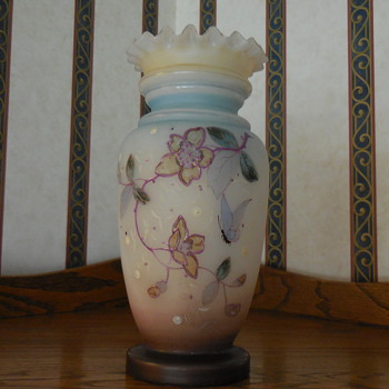 Beautiful Old Vase - Art Glass