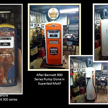 Some of my restored gas pumps 1
