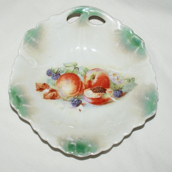 "Small Dish, Marked ""Bavaria"""