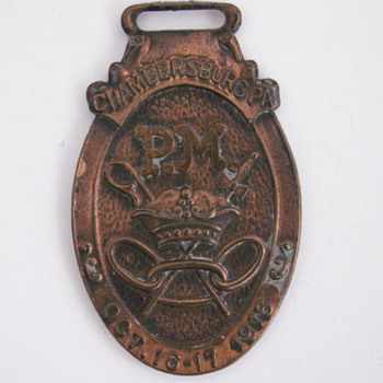 Chambersburg, PA. 1916 Watch Fob
