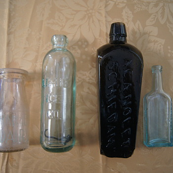 Old Bottles Still in Refrfigerator - Bottles