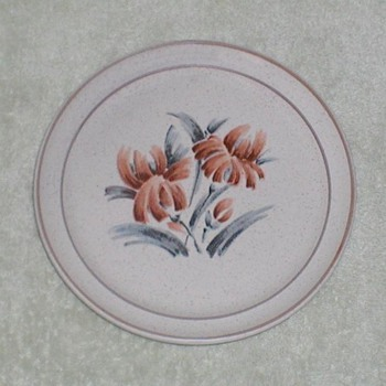 Speckled Stoneware plate - China and Dinnerware