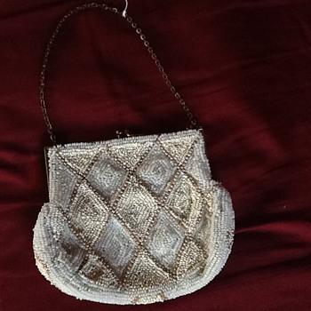 Vintage Beaded Purse - Bags