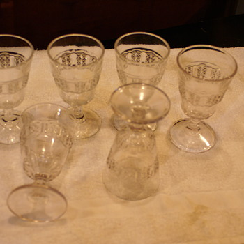 This EAPG set of glasses is n beauiful condition, trying to ind out the name of tis set?