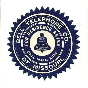 The Bell Telephone Company of Missouri - Telephones