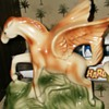 pegasus art pottery  in my collection