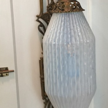Very unique inverted wall lamp/ sconce