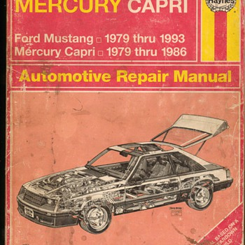 Haynes Mustang Repair Manual