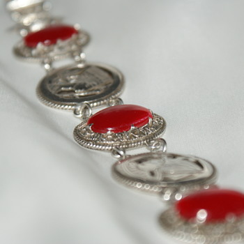 Egyptian Silver Vintage Bracelet