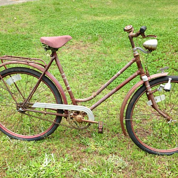 vintage Staiger Record bicycle