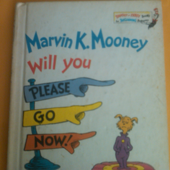 marvin k. Seuss book