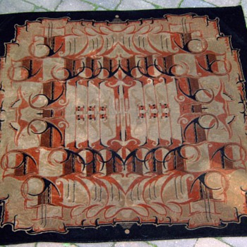 Rug &#039;&#039;Amsterdam School&#039;&#039; - Art Deco