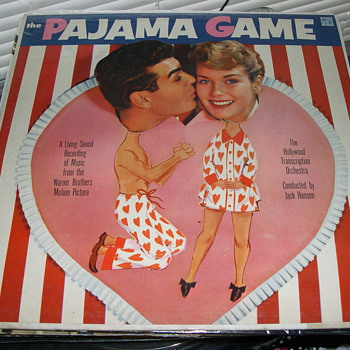 THE PAJAMA GAME WARNER BROS MOTION PICTURE HI FI RECORD LABEL - Records