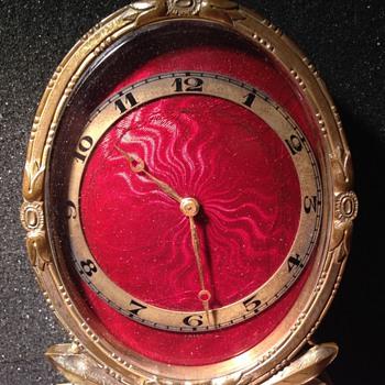 Chevron 8 Jour clock - Clocks
