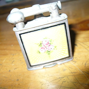 Vintage Clark Guilloche Lighter- need a part????