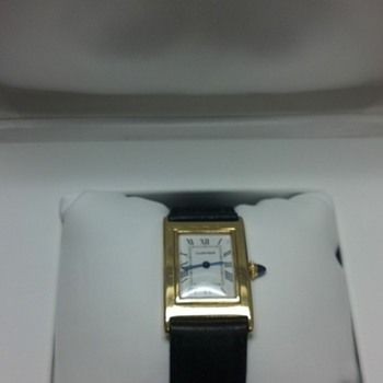 Looking for Information, Cartier Ladies Tank Antique