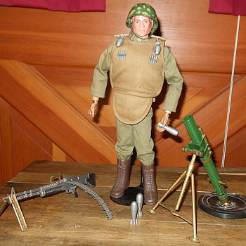 GI Joe Heavy Weapons Set #7538 - Toys