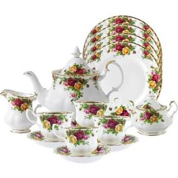 Old Country Roses Tea Set - China and Dinnerware
