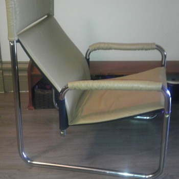 Marcel Breuer steel tube chair?