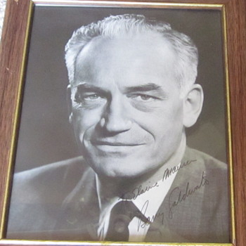 Signed Photo of Former Senator Barry Goldwater