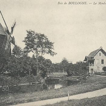 BOIS DE BOULOGNE. – LE MOULIN DE BAGATELLE. - Postcards
