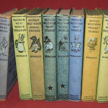 Old Mother West Wind Books By Thornton W. Burgess (Complete Set) - Books