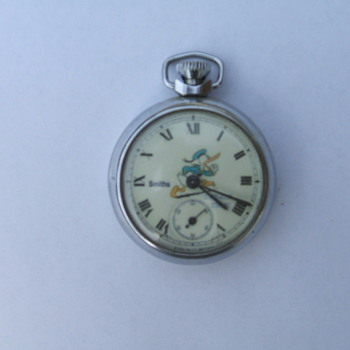 2nd Post of Donald Duck Pocket Watch - Pocket Watches