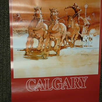 canadian pacific airlines poster - Posters and Prints