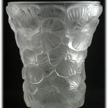 INWALD BAROLAC DOUGLAS JENKINS VASES-- - Art Glass