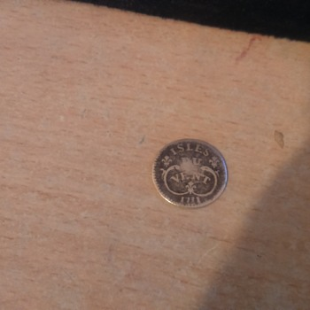 unusual french coin