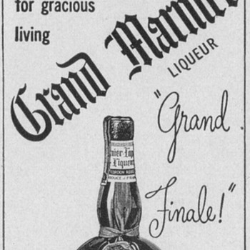 1950 Grand Marnier Advertisement - Advertising