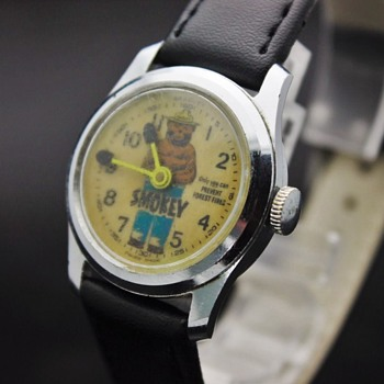 Smokey Bear Wrist Watch - Wristwatches