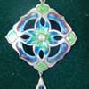 Arts & crafts enamel pendant