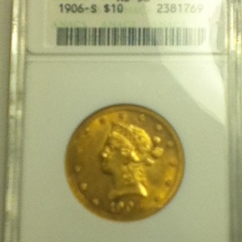 1906 San Francisco Gold Coin - US Coins