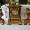 Mantle Clock 3 Pce.